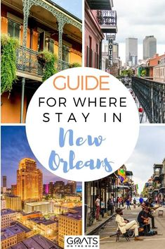Visiting New Orleans and are looking for the most fun area to stay? Welcome to our guide for where to stay in New Orleans! Everything from The French Quarter, Faubourg Marigny, Bourbon Street, and more! | #travel #wanderlust #traveltips Travel Route, Travel Usa, Visit New Orleans, Road Trip Adventure, Central Business District, Bourbon Street, Unique Hotels, Travel Guides, Travel Tips