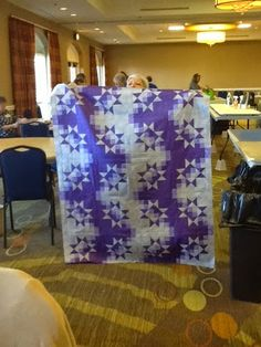 Lots of fun quilts being put together today. The pattern is a mystery quilt by Debbie Caffery and is wonderful. This is the fifth year we ...