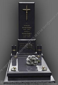 Cemetery Monuments, Plants, Houses, Stone