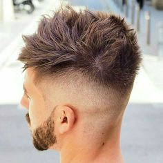 fade for youth with Long Spikes
