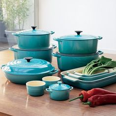 Le Creuset - Obviously I've not made this, but I do own it in red!  LOVE my Le Creuset!