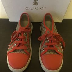 Girls(kids) Gucci Sneakers Good Condition Lighlty Worn Gucci Shoes Sneakers