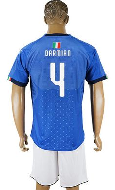 2018 Italy Home Football Jersey Shirt 2018 Italy World Cup Home Jersey  398c74a02