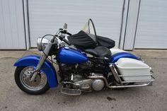 1971 Harley Davidson Shovelhead with Sidecar For Sale Whitestown, Indiana…