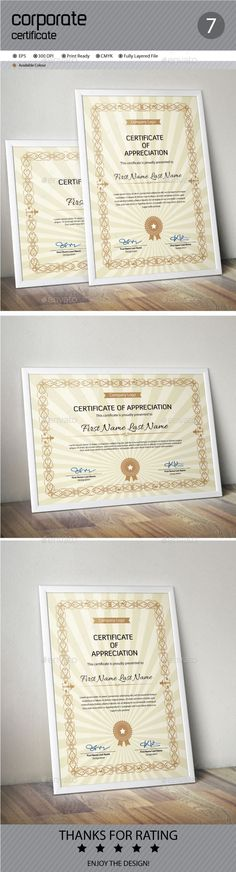 Certificate Template Vector EPS. Download here: http://graphicriver.net/item/certificate/11933296?ref=ksioks