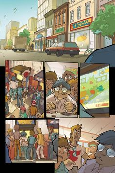 Arcade Boy #1 - page 1   Dark Horse Presents #21
