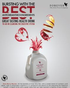 The benefits of Aloe Vera Gel with the sweeter taste of cranberry and apple. Can help maintain a healthy digestive system. Potent antioxidants which helps protect the skin. Vitamin C and pectin in apples which aids the cleansing and detoxification of the skin Helps maintain a healthy urinary system.