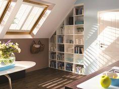 3 Schuin dak? Maak een slaapkamer | Ikea interior, Celine and Interiors