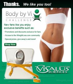 Body By Vi.      Is this what you want for you?    It CAN happen, I'm going for it!