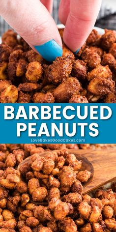When it comes to a quick snack or game-day food idea, these awesomely addictive Barbecued Peanuts knock it out of the park with how easy they are to make! This recipe makes a great holiday gift, too! Game Day Food, Quick Snacks, Knock Knock, Baked Goods, Barbecue, Holiday Gifts, Things To Come, Baking, Recipes