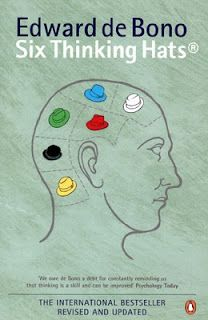 Six Thinking Hats: An Essential Approach to Business Management from the Creator of Lateral Thinking by Edward De Bono Six Thinking Hats, Thinking Maps, Thinking Skills, Creative Thinking, Design Thinking, Critical Thinking, Books To Read, My Books, Lateral Thinking