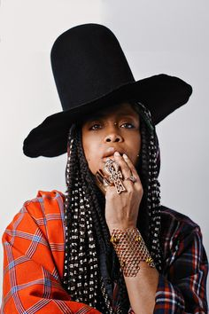Erykah Badu photographed by Erik Umphery.