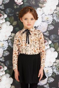 milkmaid braids, little girl outfit