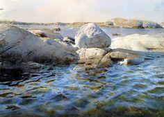 Stanislaw Zoladz. Hyperrealism. Water watercolor. Watercolor ninth