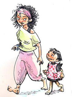Zoe and Mia