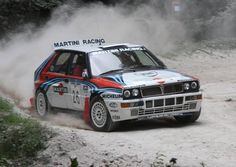 Lancia Delta Integrale rally car