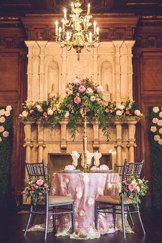 Handmade Paper Flower Wedding Inspiration