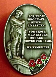 On the hour, of the day, of the month, we will remember them. Lest we forget.