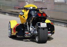 GG Taurus – a 4 Cylinder BMW Reverse Trike from GG Technik of ...