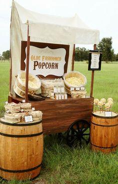 { Ask Cynthia }: Wedding Inspirations | Popcorn Bars