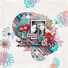 ScrapMatters::Digital Scrap Kits::Laughing Garden by River~Rose