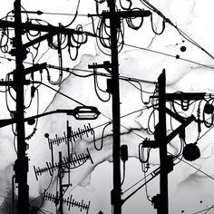 'Cable Cranes' by Nanami Cowdroy