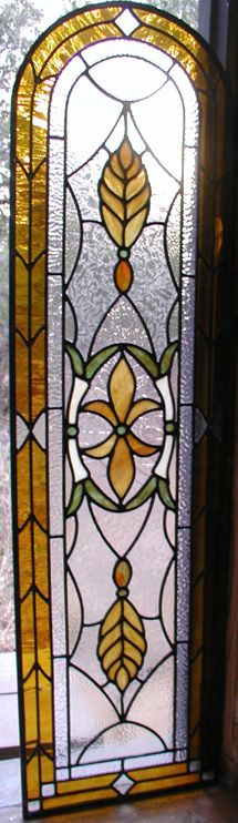 Leaded Stained Glass Patio Doors
