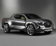 2018 Hyundai Santa Cruz: Specs and Price - 2018 / 2019 New Pickup Trucks Auto Hyundai, New Hyundai, Hyundai Cars, Porsche, Audi, Bmw, Cool Trucks, Cool Cars, Carros Hyundai