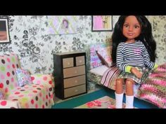 How to make an 18 inch doll bed (American girl, journey girl, maplelea, ect.)