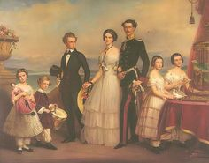 The Children of Franz and Maria Ludovica of Bavaria