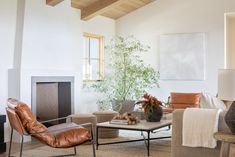 The Crestview House: Entry, Dining, & Living Space Modern Lake House, Bedroom Fireplace, Fireplace Mantel, Studio Mcgee, Fireplace Surrounds, Home Studio, Design Firms, Great Rooms, Room Inspiration