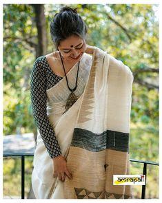 Cotton Saree Designs, Saree Blouse Neck Designs, Fancy Blouse Designs, Oktoberfest Outfit, Anarkali, Lehenga, Sambalpuri Saree, Set Saree, Hurley