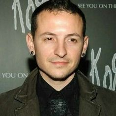 Chester giving that angelic look and smile...