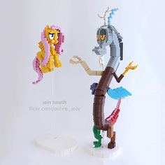 Lego Fluttershy and Discord