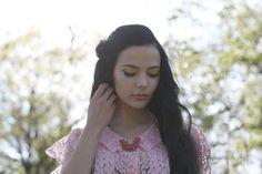 EVIG VINTAGE SS14 lookbook - 50s pink lace blouse ///   Model - Barbro Andersen Photo - Lisa Lindoe Hair and Make up - Karoline K Edquist Styling - Eirin Pedersen Mysterious Skin, Blouse Models, I Cup, My Cup Of Tea, Pink Lace, Vintage Photography, Fashion Stylist, Vintage Shops, Tea Cups