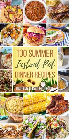 These instant pot recipes are infused with summer flavors and are perfect for weeknight dinners. From fresh seafood to light summer side dishes, there are plenty of refreshing and easy dinner recipes to choose from. Instant Pot Dinner Recipes, Easy Dinner Recipes, Summer Recipes, Easy Meals, Instant Pot Pressure Cooker, Pressure Cooker Recipes, Slow Cooker, Crockpot Recipes, Cooking Recipes