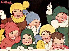 My Puzzles - Children - Vintage - Happy Children in Winter