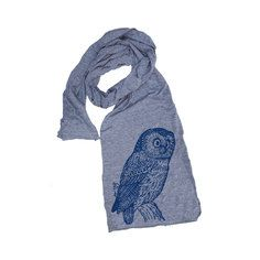 Wise Owl Scarf Gray, $16, now featured on Fab.