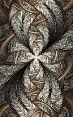 zentangle - amazing depth in this Silver and Gold design pinned with #Bazaart - www.bazaart.me