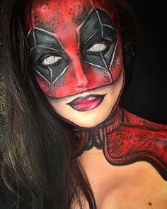 #deadpool #deadpoolmakeup #makeup #marvel #dc #comic #comics #cosplay… - COSPLAY IS BAEEE!!! Tap the pin now to grab yourself some BAE Cosplay leggings and shirts! From super hero fitness leggings, super hero fitness shirts, and so much more that wil make you say YASSS!!!