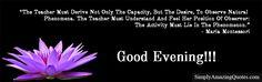 Good Evening #EveningPost #EveningQuote #EveningText #Evening #GoodEvening #InspirationalQuotes #MotivationalQuotes #LovelyQuotes #QuoteOfTheDay #ThoughtOfTheDay #QuotePics #Quotes #Quote #Saying #MondayMotivation  https://goo.gl/BbPvsi