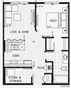 tiny house blueprint a little bit of this that and everything small floor planssmall
