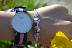 Spring was arrived ♥ and @Daniel Wellington Watches are perfect!