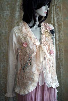 RéservésDandy  baroque romantique inspiré veste par FleursBoheme