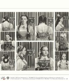 The Wizard of Oz: Hair and dress tests