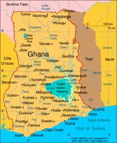 Ghana. When we went, We landed in Accra and drove to Kumasi... 8 hr car ride bc of the road conditions! But I cant wait to go back