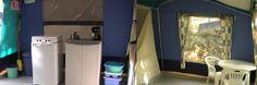 In de bungalowtent staat een koelkast met vriesvak en daarop een vier pits gasfornuis. Verder is de inventaris uitgerust voor 6 personen. Elke bungalowtent is standaard voorzien van elektriciteit met 2 lampen, koelkastaansluiting en extra stopcontacten. Om lekker te kunnen zitten zijn er verstelbare stoelen, kuipstoelen en zijn er 2 tafels aanwezig. www.familyholidays.nl