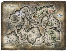 Dungeon #198 - Warrens of the Stone Giant Thane; South Warrens (Digital DM & Player Versions)