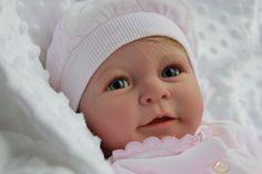 MARIAN ROSS Reborn Doll Lisa Linde Scherer HUMAN HAIR Girl Baby Sunshine Nursery фото