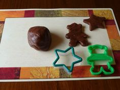 A couple of months ago, I posted a recipe for Peanut Butter Play Dough that my kids really enjoy. Then I checked out Mr. Food 's Simply Chocolate cookbook by Art Ginsburg from the library, and lo ...